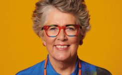 Prue Leith's new colourful eyewear collection comes to Petersfield